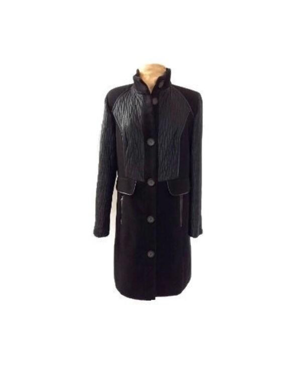Black women coat