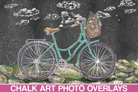 Chalk background digital baby Sidewalk chalk overlay /& Photoshop overlay Overlay sidewalk chalk art spring Amine overlay