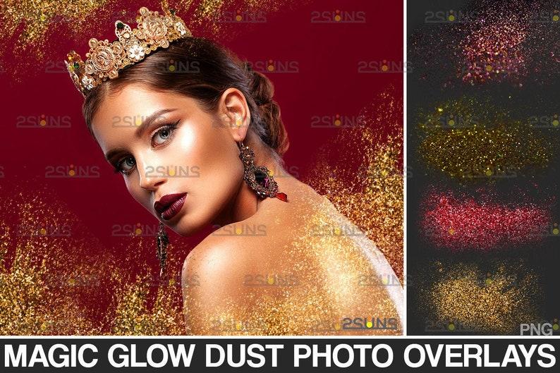 Falling glitter overlay Glitter dust image overlay Photoshop layers Bokeh lights overlay Blowing glitter overlays /& Photoshop overlay