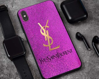 a09547b3d5d Luxury Ysl New Fashion Phone Case For Apple iPhone XS Max XR X 7/7+ Xs 6S 8/8  Plus Case Samsung Galaxy S10/S10+ S9 Plus Note 9 8 Case