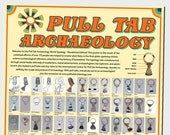 Pull Tab Archaeology World Typology Poster