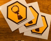 Pull Tab Archaeology Sticker (3 pcs)