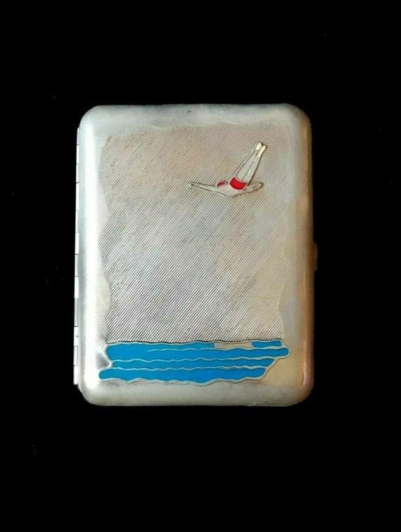 Rare cigarette case Rare cigarette box Cigarette c
