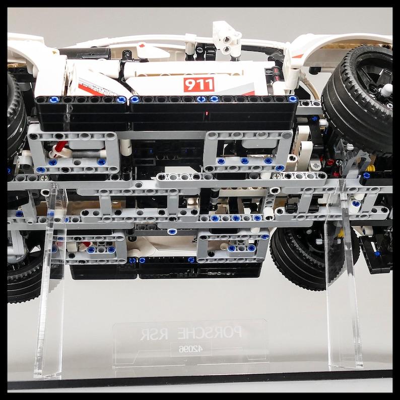 Acrylic Display Stand for LEGO Technic Porsche RSR 42096