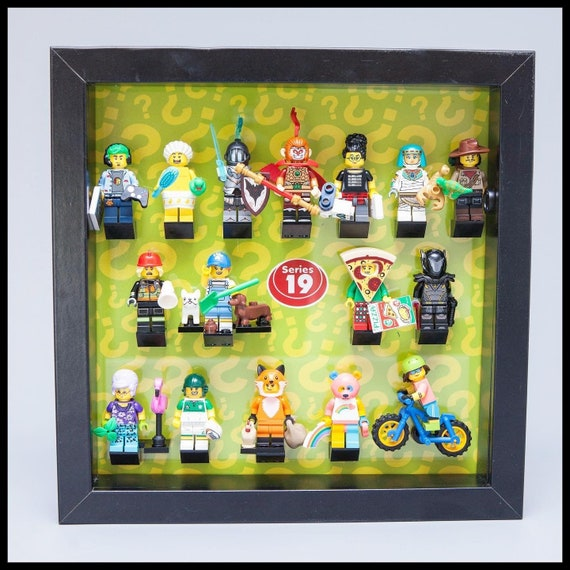 Lego Minifigures Display Case Frame Series Speed Champions mini figures