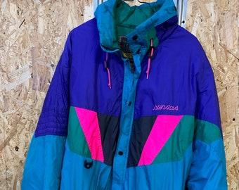 Vintage Nevica Funktion System Ski Snowboard Jacke Herren Gr