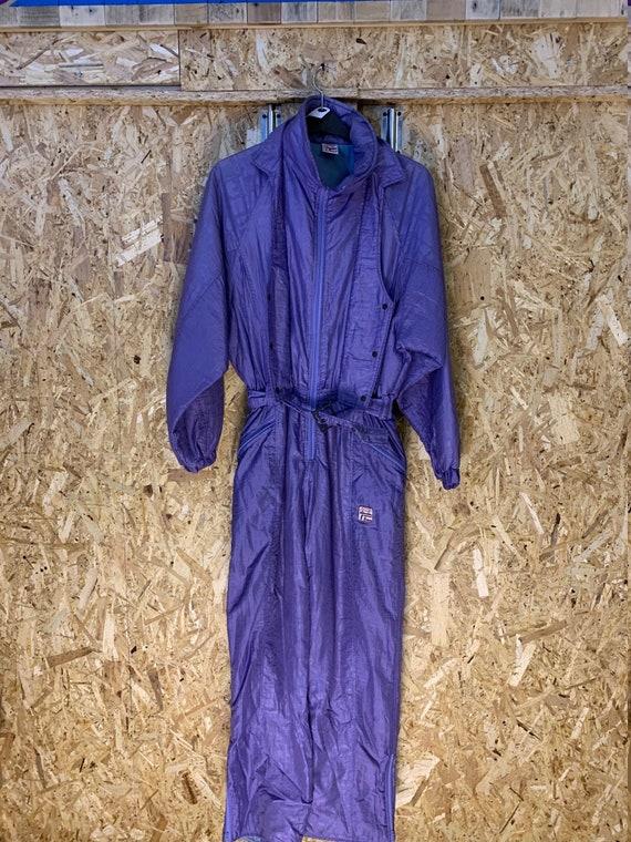 Vintage Italian Ski Suit