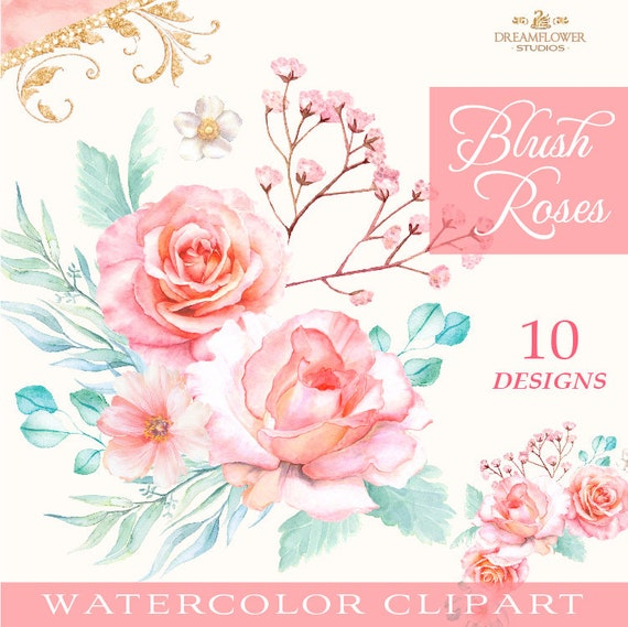 UK Seller 13 Colours NEW Beautiful Watercolour Effect Peony Flower Hair Clip