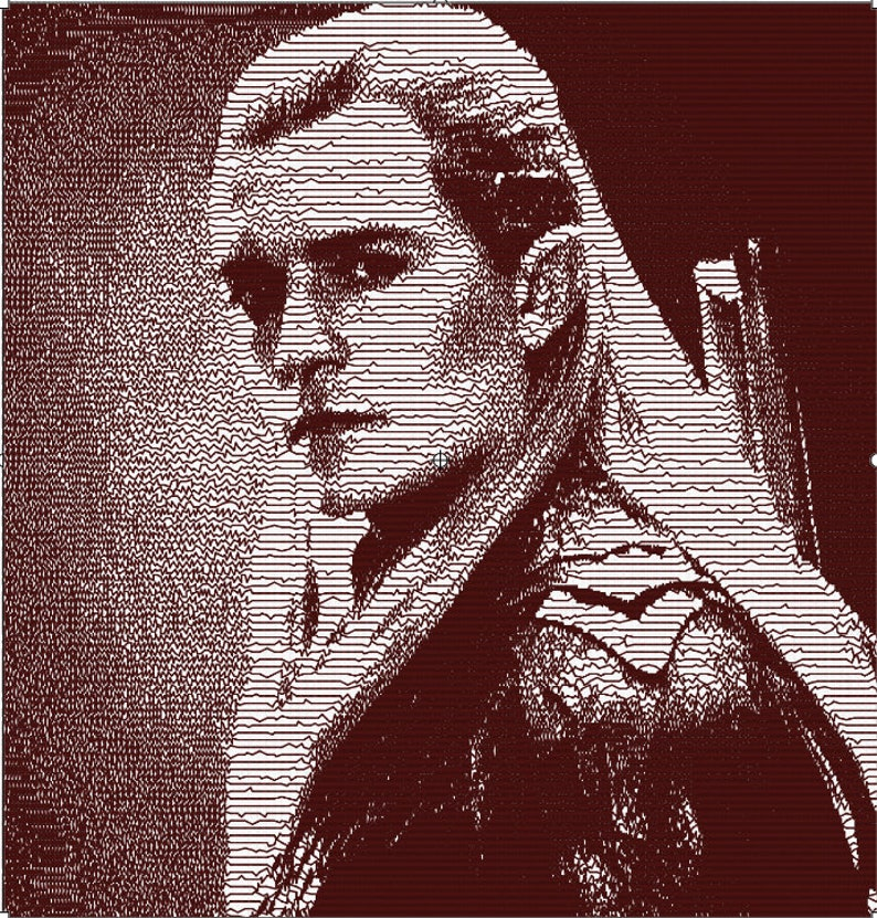 INSTANT DOWNLOAD Legolas photostitch embroidery design file di ricamo