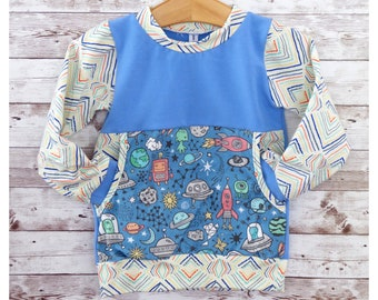 Gender Neutral Tee Shirt Handmade Tee Shirt Organic Elephants Pouch Pocket Tee Unisex Kids Gift Toddler Tee Shirt Pocket Tee Shirt