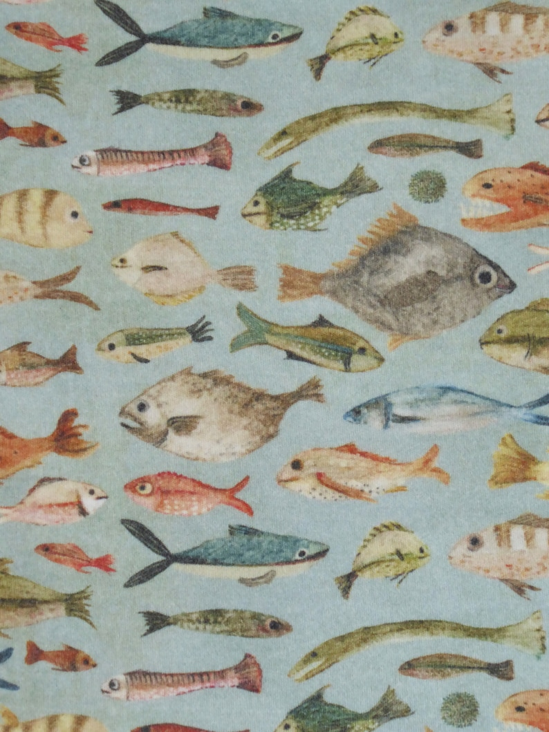 Fish Bodysuit Fish Baby Clothes Ocean Theme Baby Gift Handmade Fish Baby Clothes Gender Neutral Baby Clothes