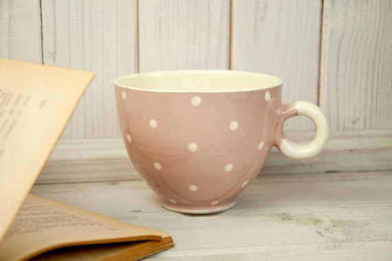 Ceramic cup, Handmade cup, Pottery, Coffee cup, Tea cup, Tea sets, Dots