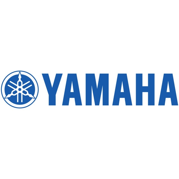 2x YAMAHA RACING sticker vinyl decal for car and others FINISH GLOSSY