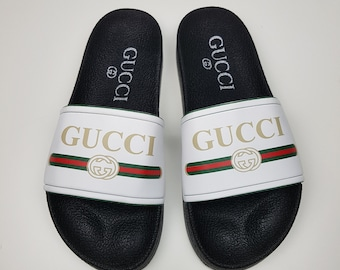 b4a59776d5c Gucci inspired slide sandal women