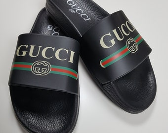 97bb83894b51fe Gucci inspired slide sandal