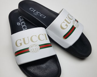 563b5096ab97 Gucci inspired slide sandal