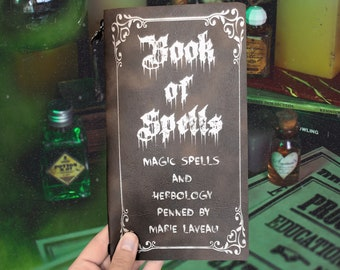 Southern Gothic Grimoire Journal | Witch Sketch Journal | Halloween Southern Gothic Journal |