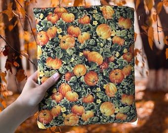 Pumpkin Patch Book Sleeve | Fall Reading | Bookish Gift