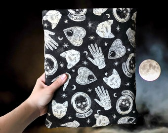 Fortunes and Favors Book Sleeve | Spooky Book Cover | Witchy Bookish Gift