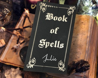 Witch Journal | Book of Spells Travel Notebook Grimoire