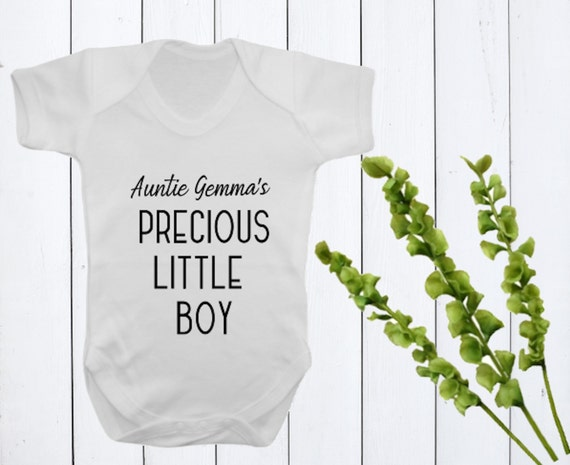 Your Own Slogan Printed on a  Baby Vest