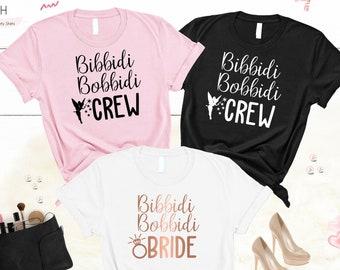 b2c4c20a0ece Disney Bachelorette Shirts, Bibbidi Bobbidi Bride, Disney Bachelorette,  Bridesmaid Shirts, Bachelorette Party Shirts, Bachelorette Disney