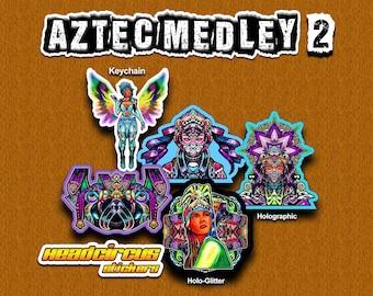 Aztec Medley Sticker Set #2