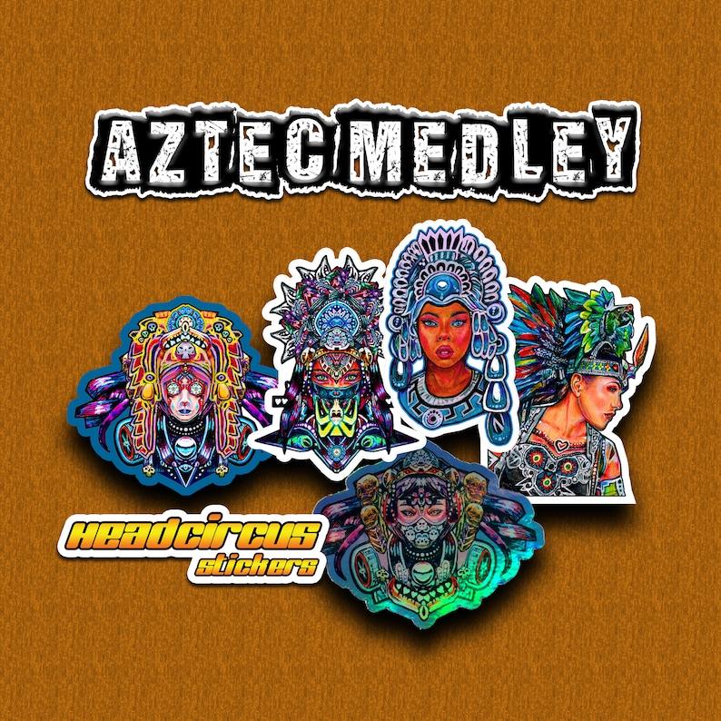 Aztec Medley Sticker Set image 0