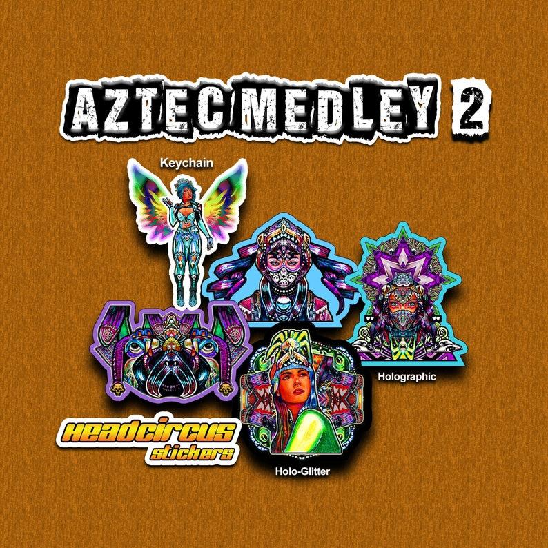 Aztec Medley Sticker Set 2 image 0