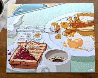A Simple Breakfast — Art Print
