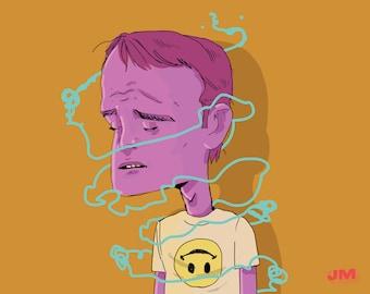 Anxious — Art Print