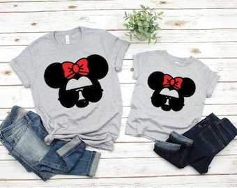 18be7f7c7b5 Minnie Mommy and Me Outfit