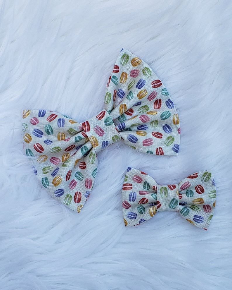 Baby Accessories Spring Bow Collection Babygirl Headbands Macaroons Bow Infant Headband