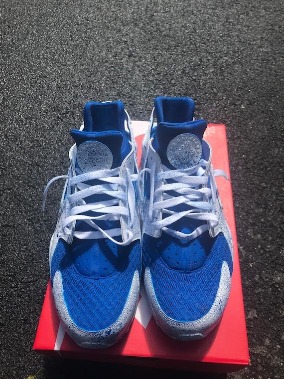 more photos 4f47a c4a32 Men's custom painted Nike Air huaraches
