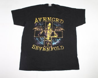 Avenged Sevenfold tour shirt American progressive metal band shirt Metalcore Men/'s size XL