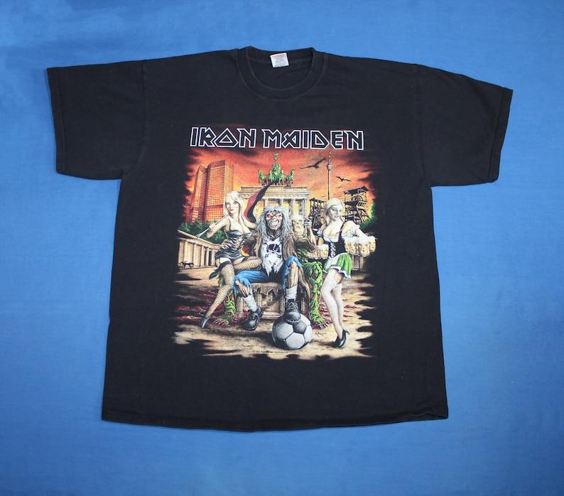 Iron Maiden shirt The Final Frontier tour shirt England heavy metal band shirt Men/'s size XL