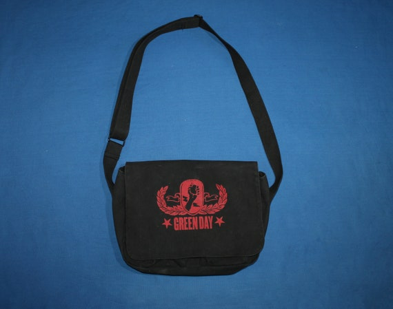 Green day Messenger Bag American Idiot Messenger B