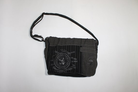 Ramones Black Messenger Bag American punk rock ban