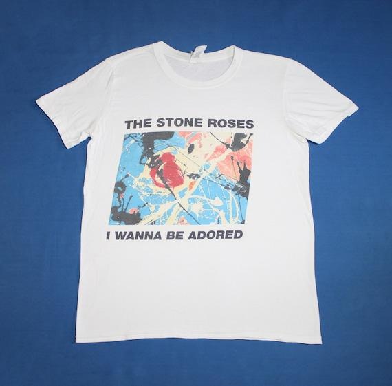 The Stone Roses shirt I Wanna Be Adored England ro