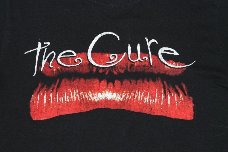 Kiss Me shirt English post-punk band shirt New wave Men/'s size M The Cure shirt Kiss Me Kiss Me