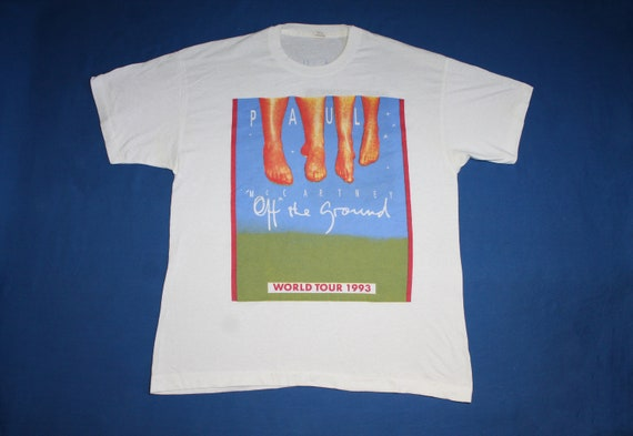 1993 Paul McCartney Tour shirt Off the Ground Tour