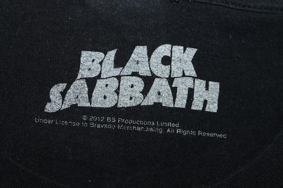 Black Sabbath shirt England rock band shirt Heavy metal Men/'s size L