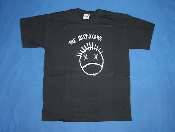 The Distillers shirt American punk rock band shirt