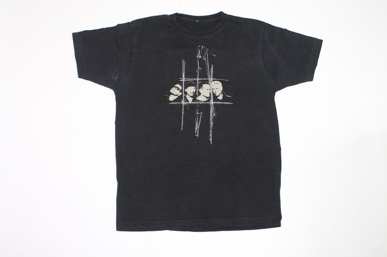 U2 shirt No Line on the Horizon shirt Irish rock band shirt Rock Alternative rock Post-punk Men/'s size L
