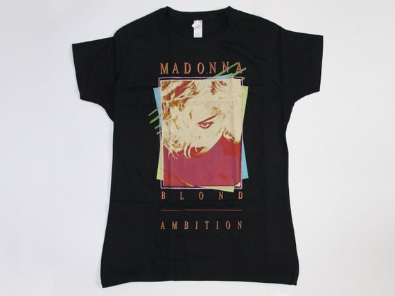 Madonna shirt Blond Ambition shirt Pop Eectronic D