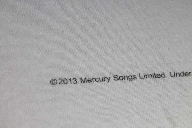 Freddie Mercury shirt Men/'s size M