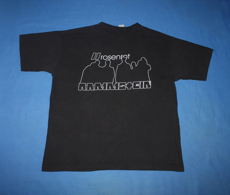 Rammstein shirt Rosenrot shirt German Industrial metal band shirt Men/'s size XL