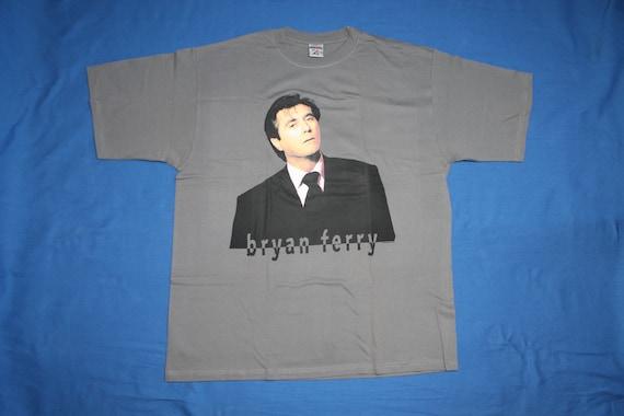 Bryan Ferry shirt Pop rock Art rock New wave Men's