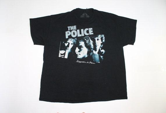 The Police shirt England rock band shirt New wave