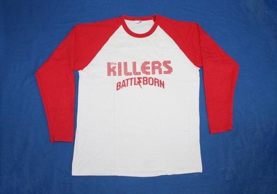 The Killers raglan shirt Battle Born American pop